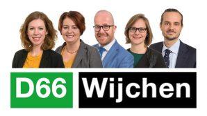 d66 wijchen fractie wittenberg dauphin moerman vereijken brand