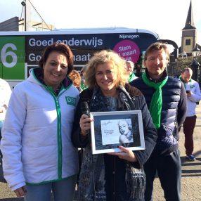 D66 Wijchen Bustour Astrid Schraven Esther Dauphin Vrouwendag